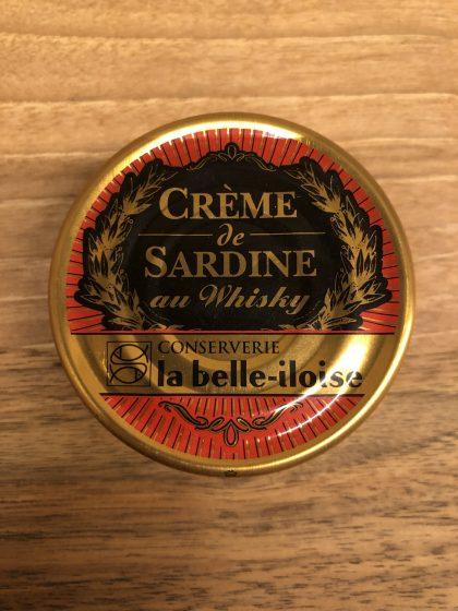 Sardinencrème Belle Iloise